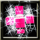 3D Sparkle Cubes Animation LWP icon