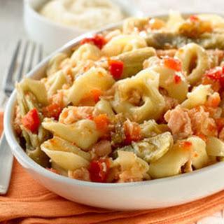 Tortellini & Salmon Salad