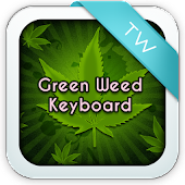 Keyboard Green Weed