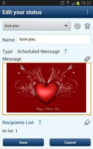 Greetings Scheduler Sender