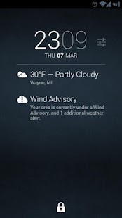 Weather Alerts for DashClock- screenshot thumbnail