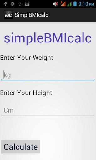 SimpleBMIcalc