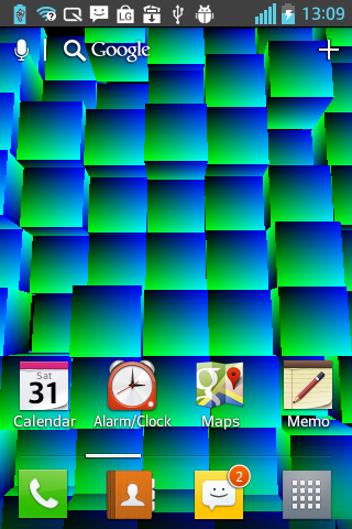 Toxic Cubes Live Wallpaper