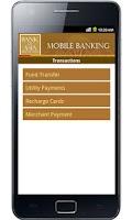 Screenshot of BOA Mobile Banking