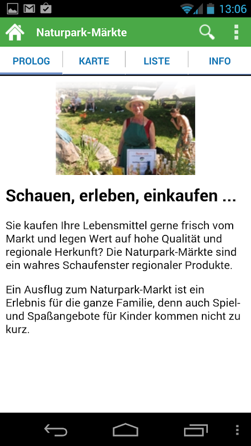 Naturpark-Genuss-App- screenshot