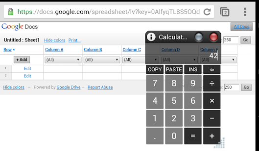 AirCalc On-Screen calculator - screenshot thumbnail