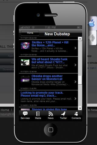 All Things Dubstep - screenshot