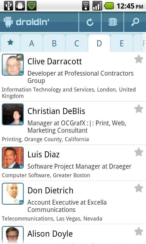 DroidIn Pro- screenshot