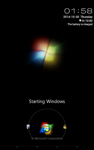 Starting Windows With Orb