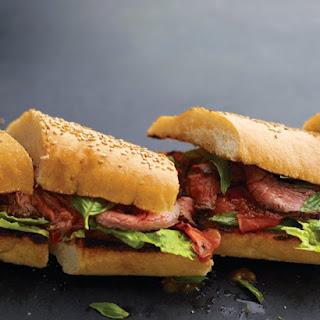 Grilled-Steak Sandwiches