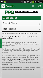 FNB Vinita Mobile Banking - screenshot thumbnail