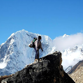 by Bhaskar Patra - Landscapes Mountains & Hills ( , Free, Freedom, Inspire, Inspiring, Inspirational, Emotion )