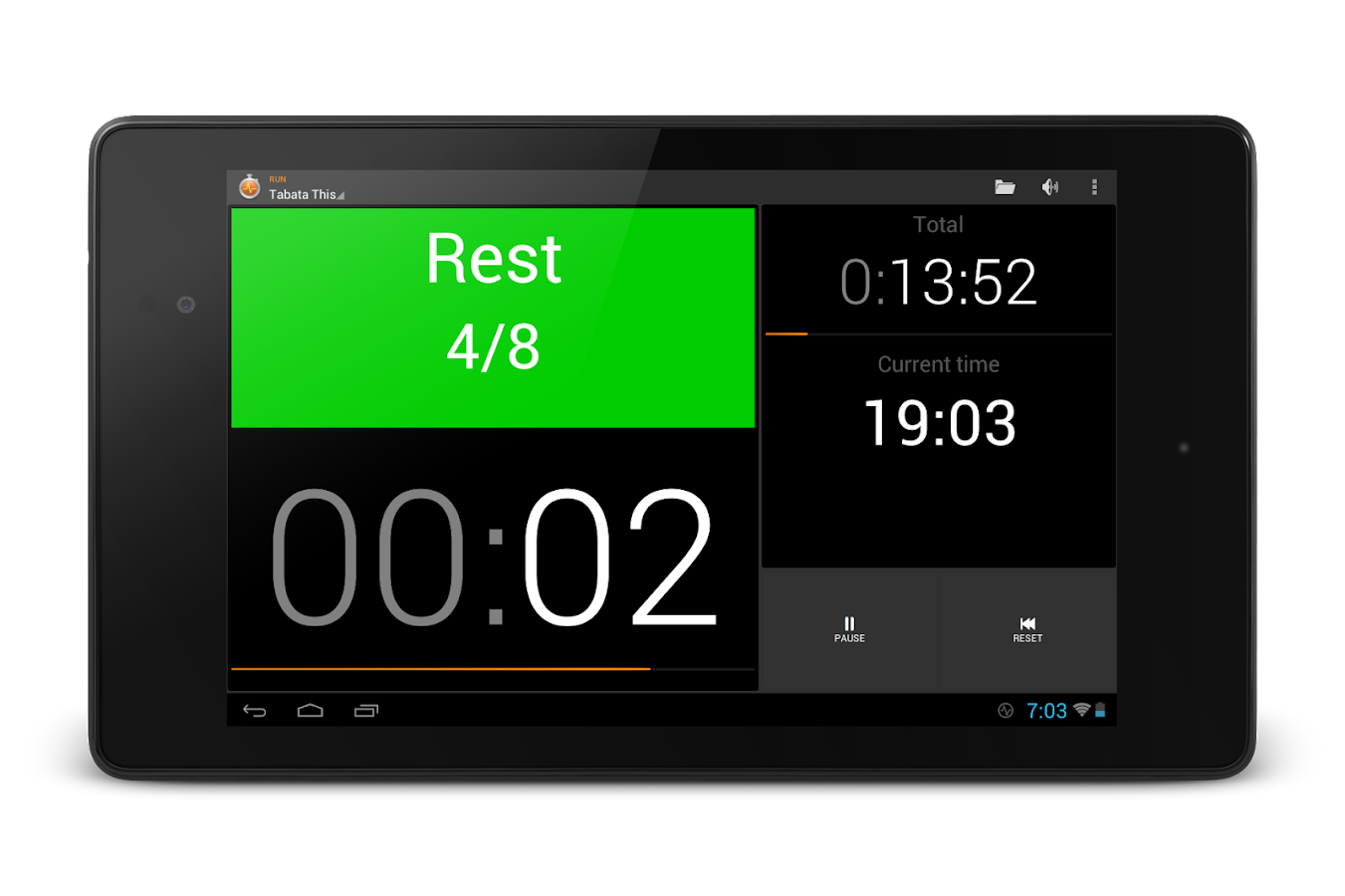 Impetus Interval Timer- screenshot