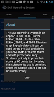 SAT Test Calculator Programs- screenshot thumbnail