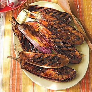 Balsamic-Glazed Baby Eggplant.