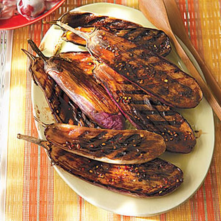 Balsamic-Glazed Baby Eggplant Recipe
