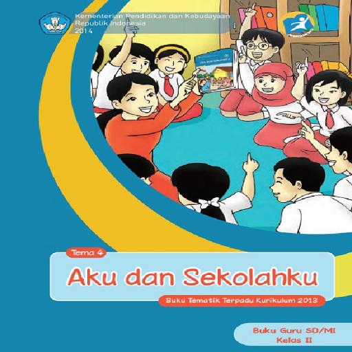 Buku Guru Kelas 2 Tema 4 Kur13 LOGO-APP點子
