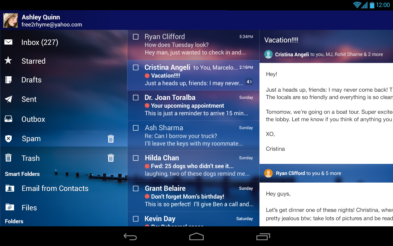 Yahoo Mail - screenshot