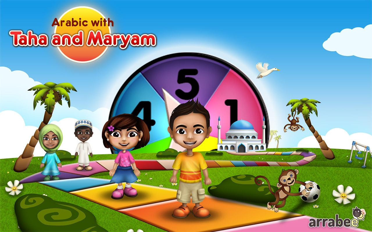 Arabic with Taha & Maryam- screenshot