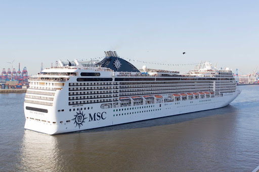 MSC-Magnifica-exterior-2 - Experience a first-class luxury holiday on your cruise aboard MSC Magnifica.