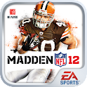 MADDEN NFL 12 by EA SPORTS logo