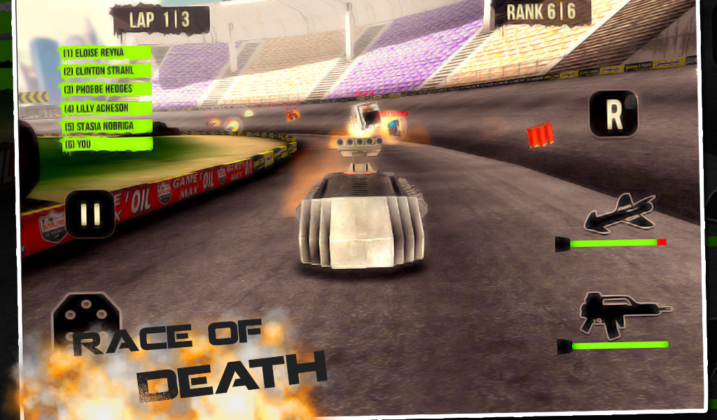 3D Dark Racers - screenshot