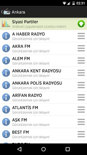 Radyo Frekansları