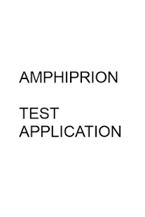 Test Application Amphiprion - screenshot thumbnail