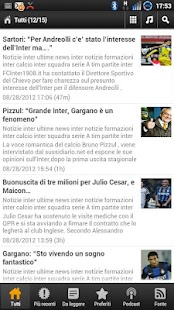 Inter News - screenshot thumbnail