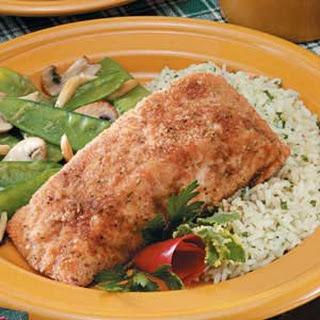Crumb-Coated Salmon.