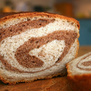 Rose Tea And Chocolate Swirl Loaf.