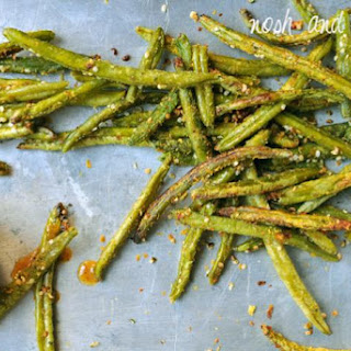 Crispy Green Bean Fries w/Maple Dijon Dipping Sauce