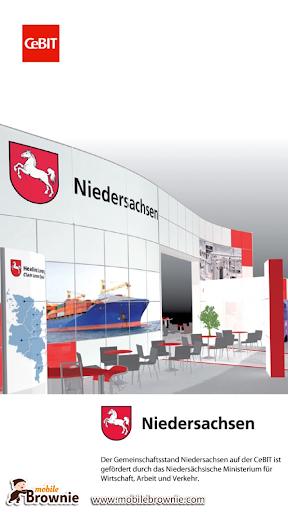 CeBIT-Stand Niedersachsen