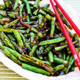 World's Easiest Garlicky Green Beans Stir Fry.