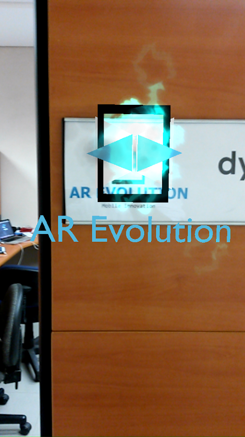 AR Evolution: captura de pantalla