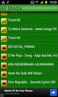 Screenshot of Play All Media player