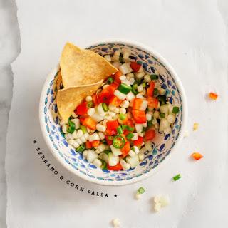 Serrano & Corn Salsa.