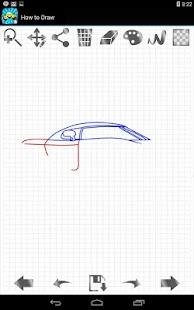 玩免費家庭片APP|下載如何绘制超级跑车 app不用錢|硬是要APP