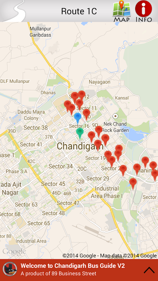 Chandigarh Bus Guide Pro- screenshot