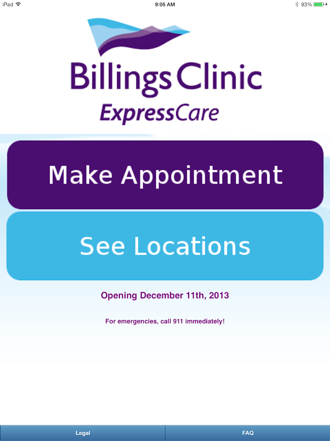 Billings Clinic ExpressCare- screenshot
