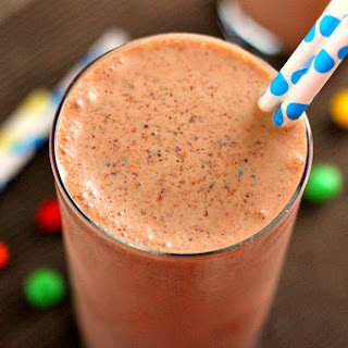 Chocolate Peanut Butter Crunch Shake