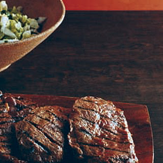 Miso Sesame Grilled Blade Steaks.