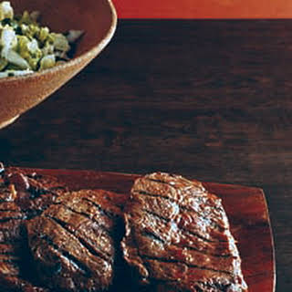 Miso Sesame Grilled Blade Steaks.