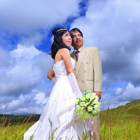 by Edo Amaramukti - Wedding Ceremony ( wedding, bride, groom )