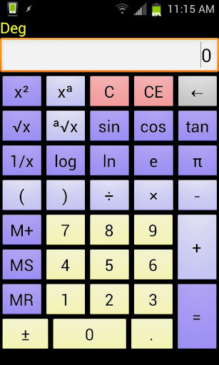 Number Cruncher Calculator