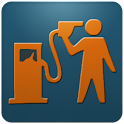 Gas price US widget logo