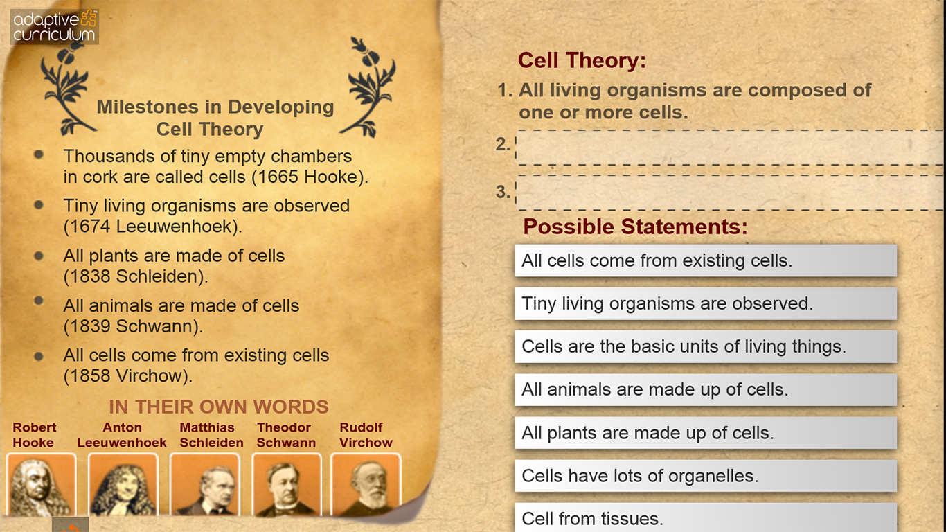 Worksheets Cell Theory Worksheet cell theory and types android apps on google play screenshot