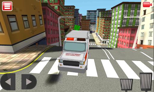 3D Ambulance Driving Simulator