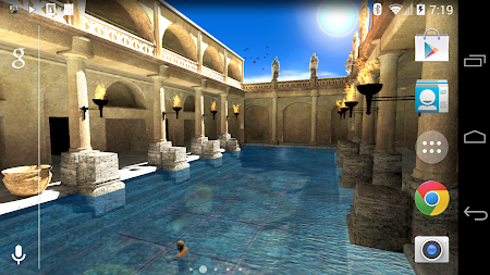 Roman Bath 3D Live Wallpaper APK screenshot thumbnail 11