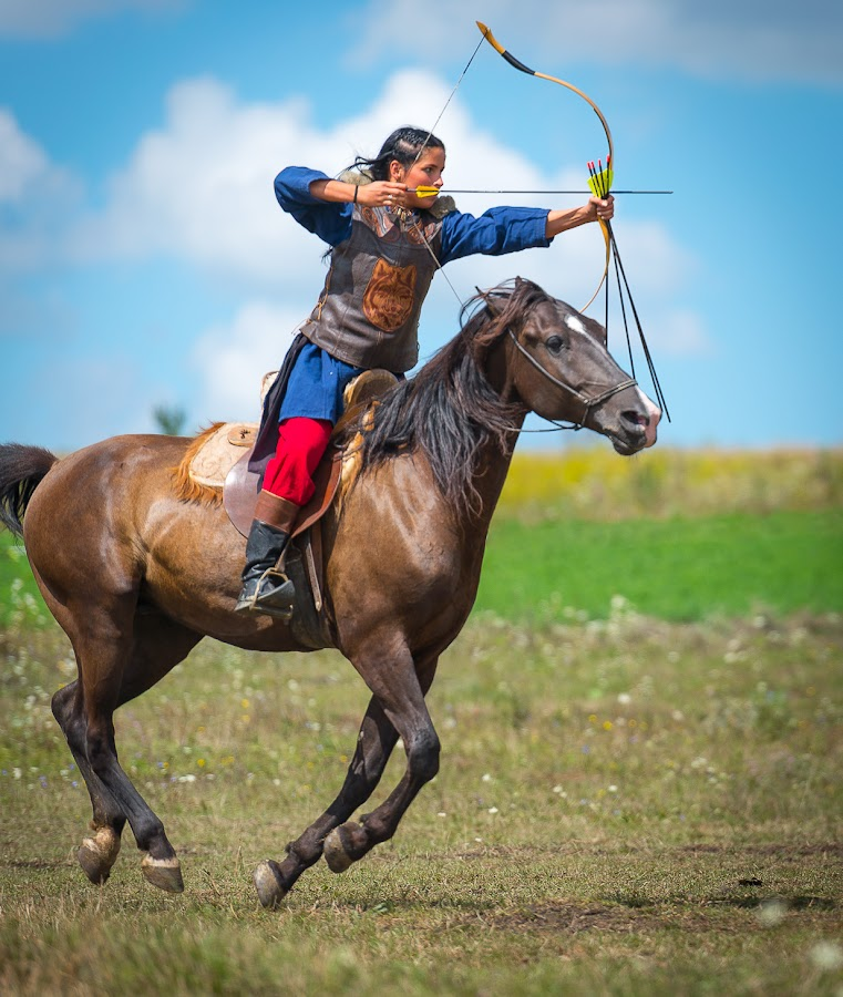 Hungarian Mounted Archery by Alexis Travkin - Sports & Fitness Other Sports